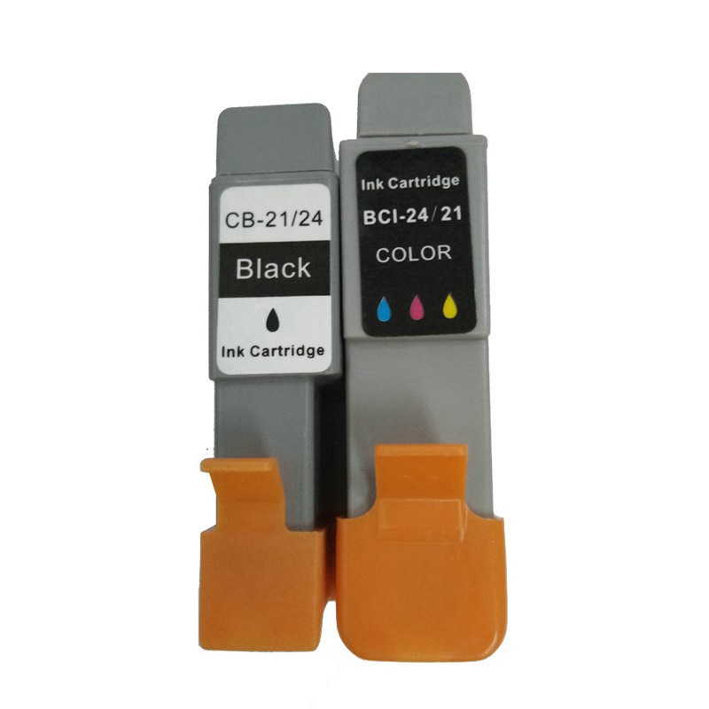 6Pk For Canon BCI 24 BCI 24 Black Color Ink Cartridge for Canon I250 I320 I350 I450 I470 I455 I475 IP1000 IP1500 MP110 MP130 in Ink Cartridges from Computer Office