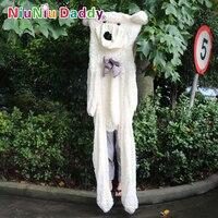 Niuniu папа огромный плюшевый мишка кожи полуфабрикаты плюшевые куклы несут Игрушки мягкие 230 см