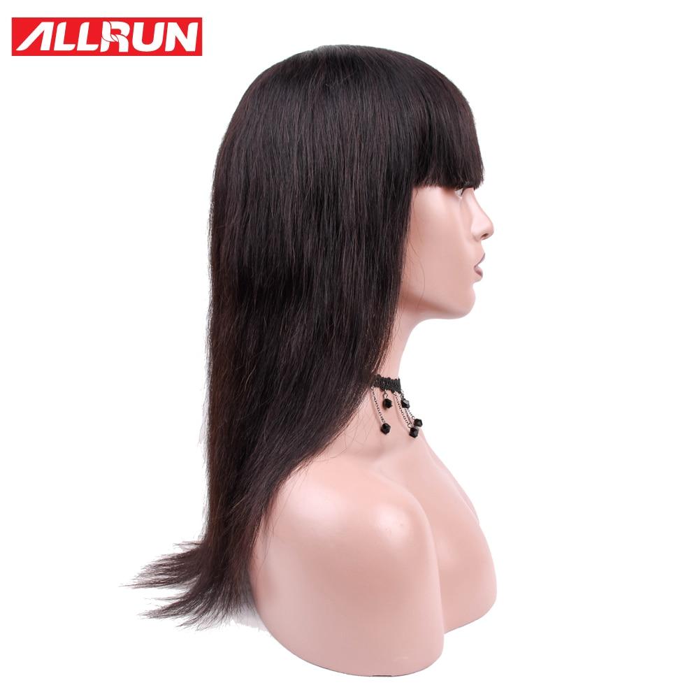 ALLRUN Μαλαισία Σγουρό βαρίδι Περούκες - Ανθρώπινα μαλλιά (για μαύρο) - Φωτογραφία 2