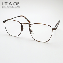 ITAOE Walter White Full Rim Breaking Bad Style Alloy Unisex Men Women Myopia Reading Optical Eyewear Frames Glasses Spectacles