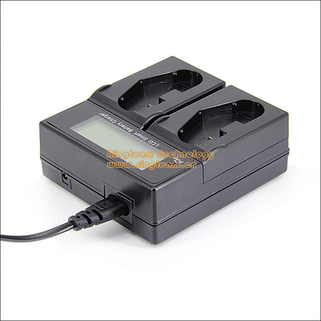 Cargador rápido lcd dual para nikon en-el4 en-el4a mh-21 mh-22 battery fits D2 D2H D2X D2Xs D2Hs D3 D3s D3x D3 Digital SLR F6 cámara