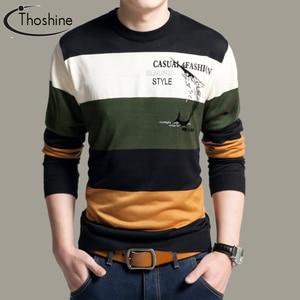Thoshine Brand Spring Autumn Style Men K