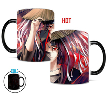 Uchiha Itachi Heat Sensitive Ceramic Mug