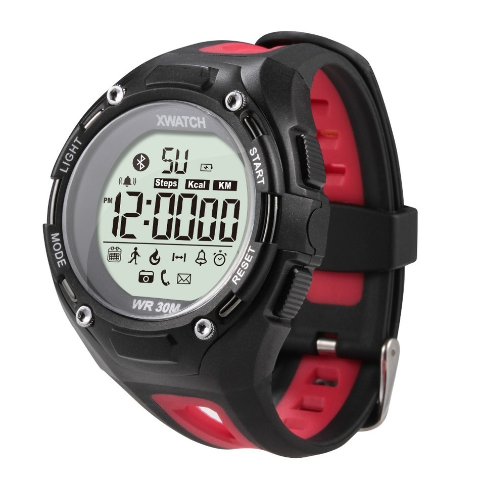 XWatch Bluetooth Smart Watch Outdoor Sport Waterproof Dust proof Night Visible Sleep Monitor for IOS font