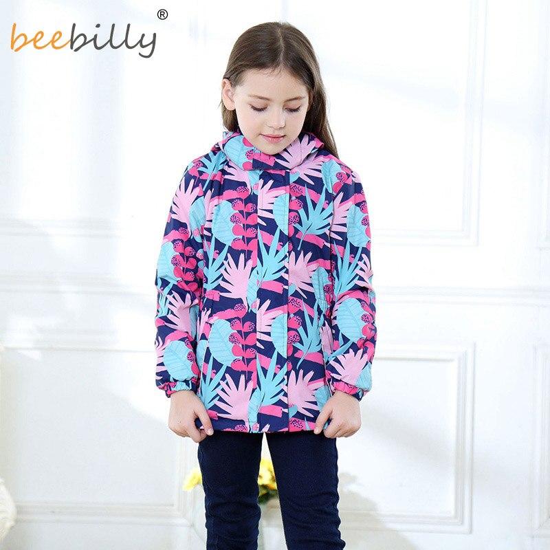 4bea077bf2a3a6 BEEBILLY New Girls Jackets Warm Polar Fleece Jackets For Girls Winter  Autumn Waterproof Windbreaker Kids Coat Children Outerwear