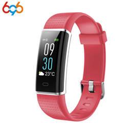 696 ID130C Smart Band приборы для измерения артериального давления сердечного ритма наручные часы фитнес Браслет трекер Шагомер Android и IOS PK CK11S