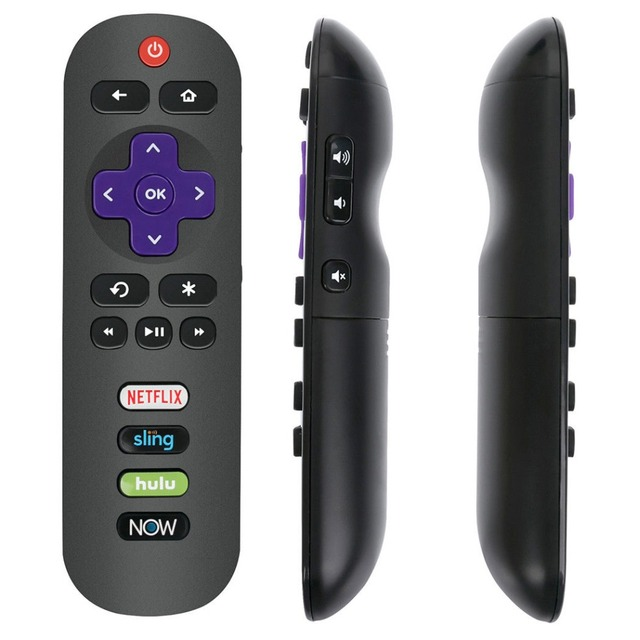 US $6 15 12% OFF New RC280 Remote Control fit for TCL Roku TV 65US5800  55S401 43S303 49S405 32S305 55S405 43S405-in Remote Controls from Consumer