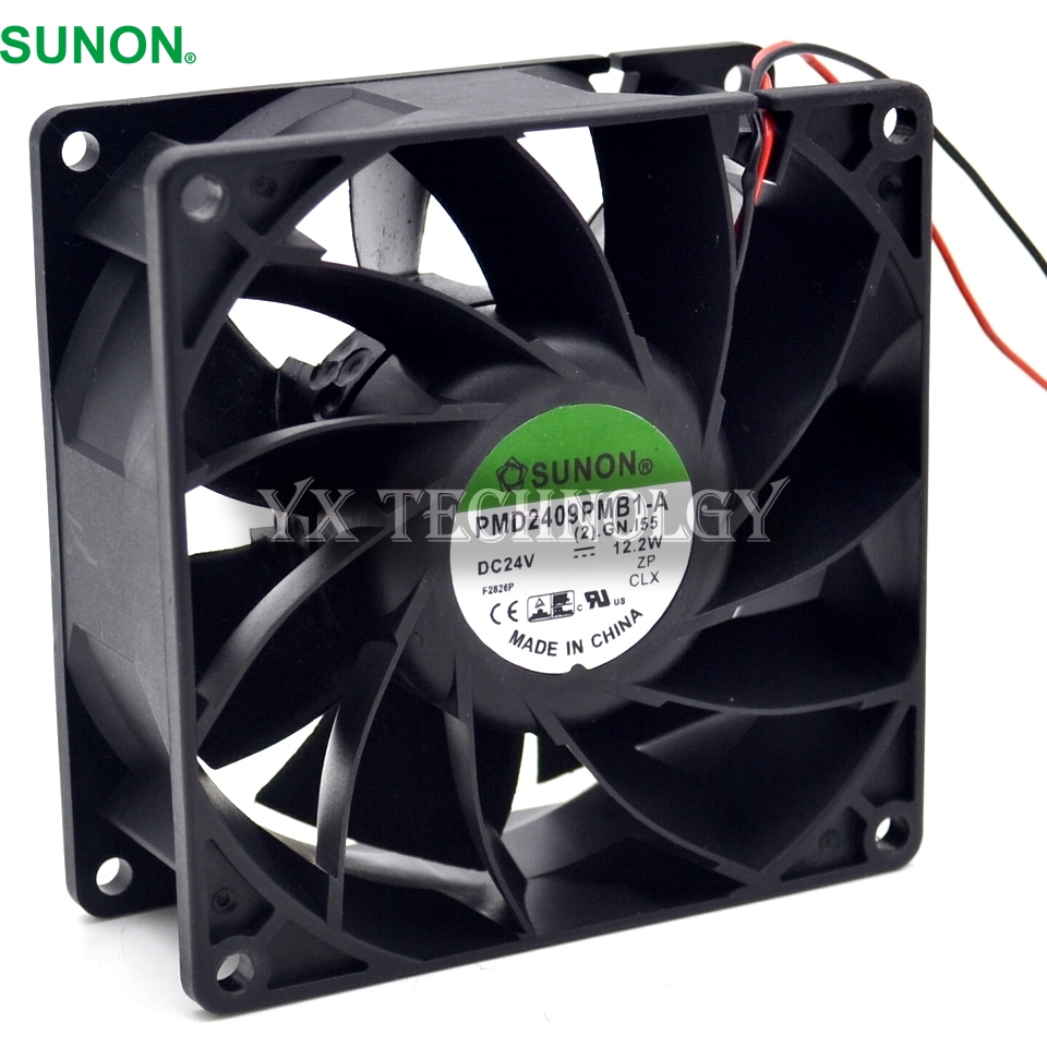 SUNON Brand new Inverter fans 24V PMD2409PMB1-A wind pressure computing devices with axial fans 92*92*38mm nils master jigger 3 8cm 25g 170