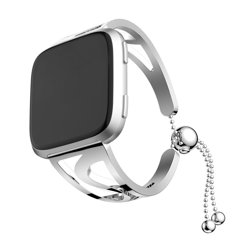 Fashion Bracelet Replacement Luxury Stainless Steel Watch Band Wrist Strap For Fitbit Versa
