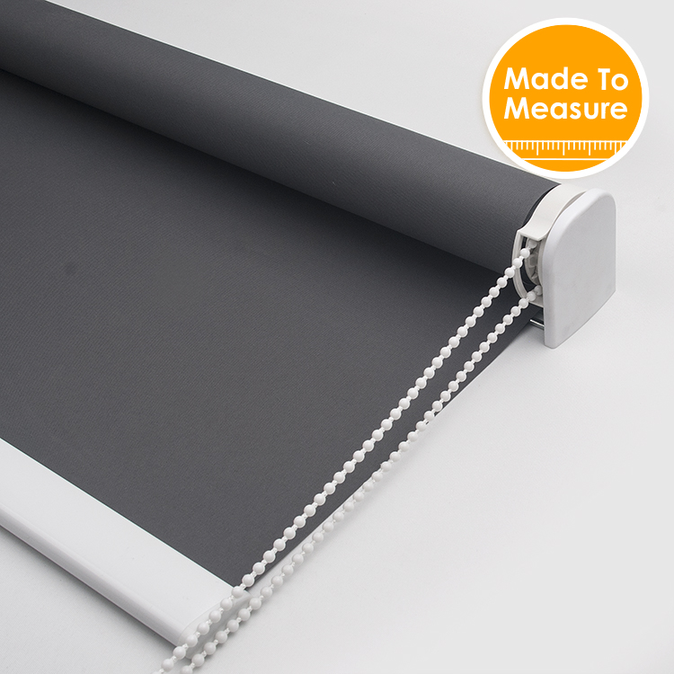 38mm Aluminum Tube Blackout Roller Blinds for livng room All Shading Strong and safe Nordic style