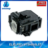 Replacement Projector Bulb Lamp ELPLP57 V13H010L57 For EB 440W EB 450W EB 450Wi EB 460 EB