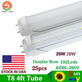 LED Bulbs Tubes T8 1200mm 28W 25W 4 Feet Led Tubes Light 4FT AC85-265V G13 SMD2835 Led lights Super Bright 2800lm