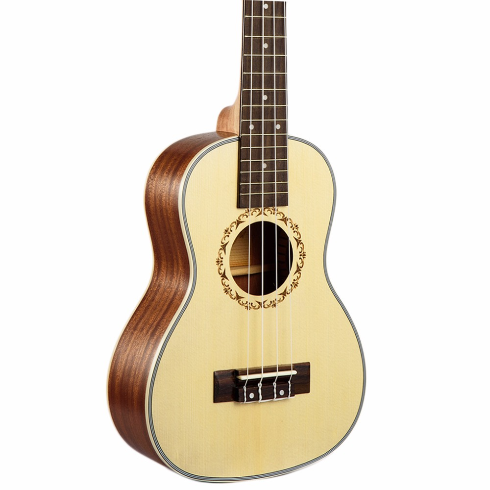 21 Pulgadas Ukulele Guitarra Pequeña Guitarra de Cuerdas de Instrumentos Musical