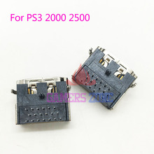 10PCS For Playstation 3 HDMI Socket Interface Connector For PS3 Slim CECH 2000 HDMI Port