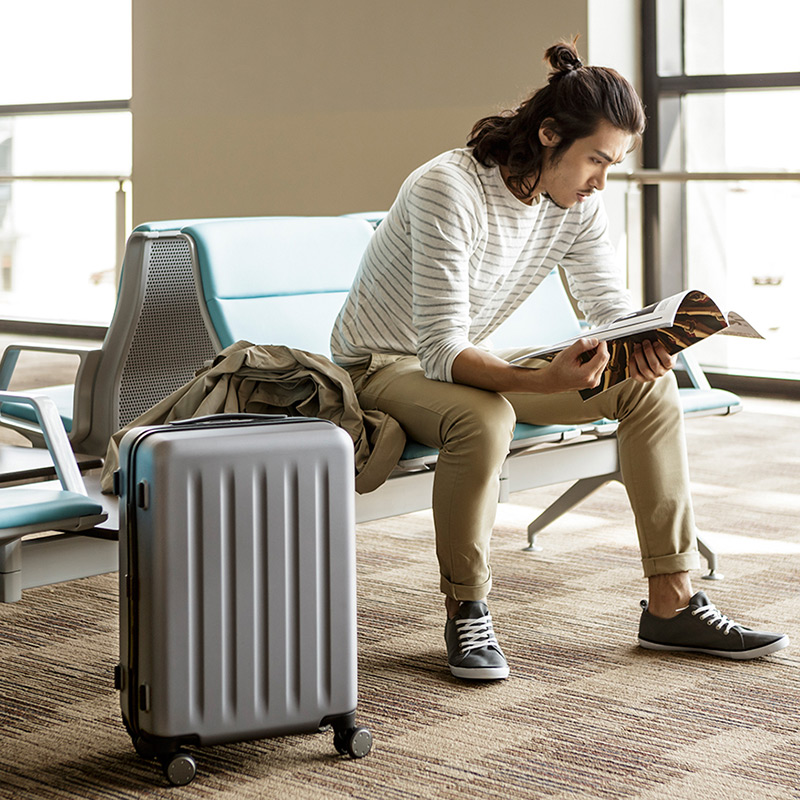 xiaomi originais 90 pontos spinner Usage C : Suitcase For 15 Inch Laptop