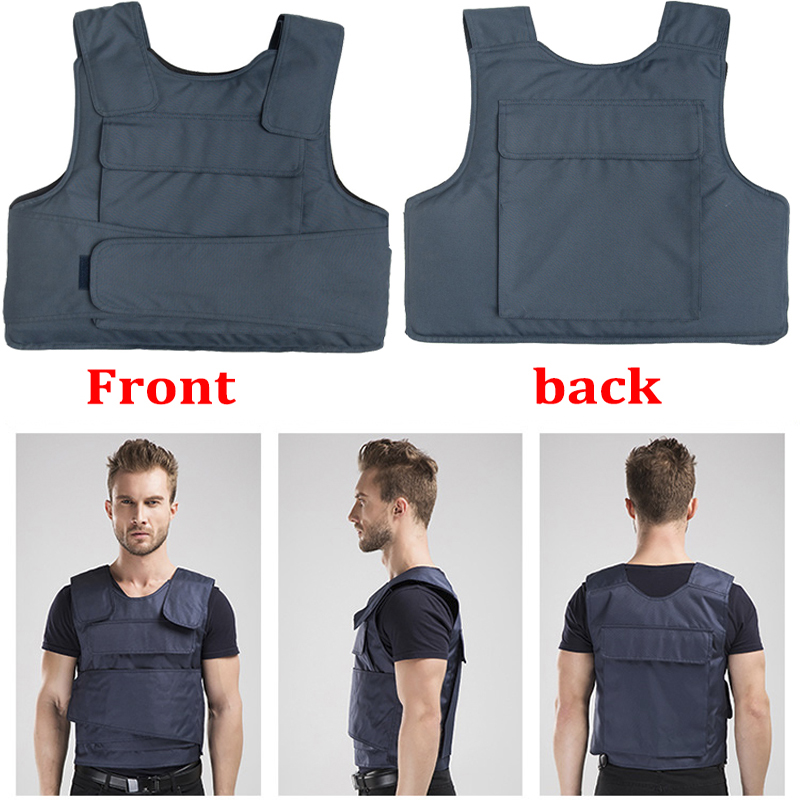 Effectively Block 24 Joules 4 Layer Stab Resistant Vest Soft Self-defense Police Use Schutzweste Tatico Anti Covert Stab Vest Back To Search Resultssecurity & Protection