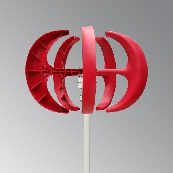 Générateur de vent vertical de la vitesse 300 w de vent de démarrage bas de deux couleurs avec le nouveau design