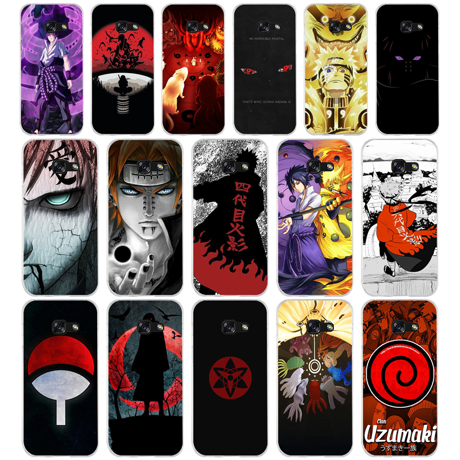 191A Sketch Naruto mens Soft Silicone Tpu Cover <font><b>phone</b></font> <font><b>Case</b></font> for <font><b>Samsung</b></font> <font><b>galaxy</b></font> a3 a5 2016 2017 a6 <font><b>A8</b></font> 2018 image