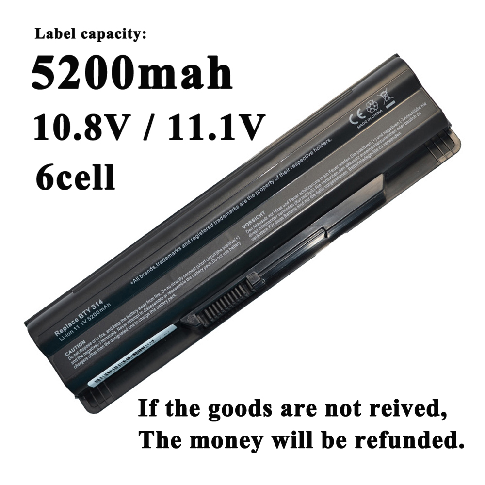 6Cells Laptop Battery For <font><b>MSI</b></font> <font><b>FX720</b></font> GE620 A6500 FR720 CX70 FX700 CX650 CX41 CR650 FR400 FR600 FR610 FR62 FX600 FX620 MS-1751 image