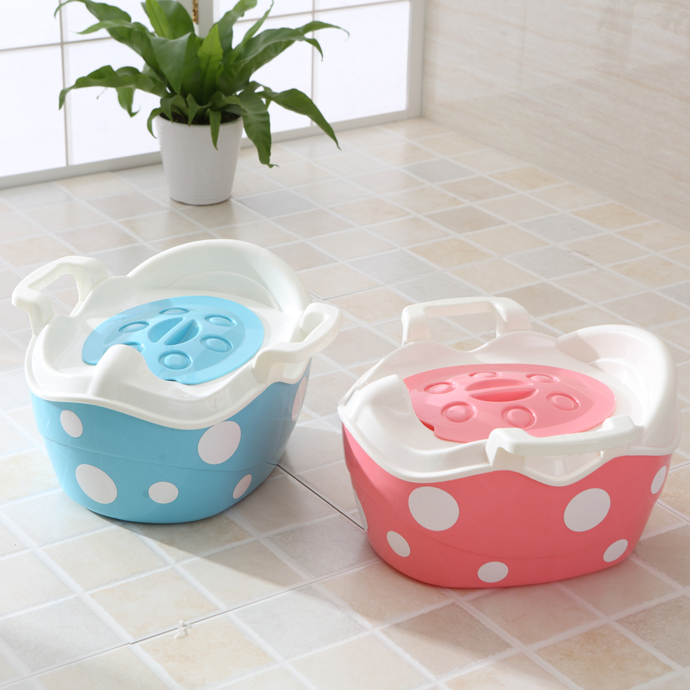 New Baby Product Baby Potty Toilet Training Seat Portable Plastic Child Potty Trainer Kids Indoor Baby Potty Chair