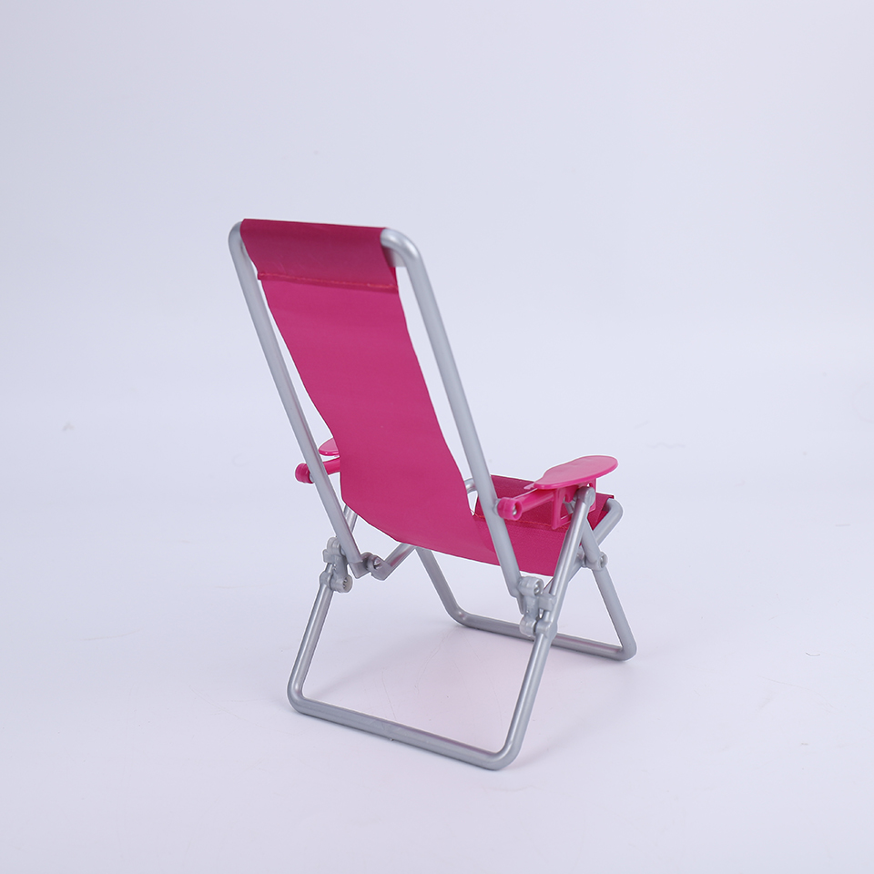 Cataleya BJD Doll 1/6 Swimming Folding Chair Accessories House Pink Rose Beach Chair Selling at a loss is only for a few days 3