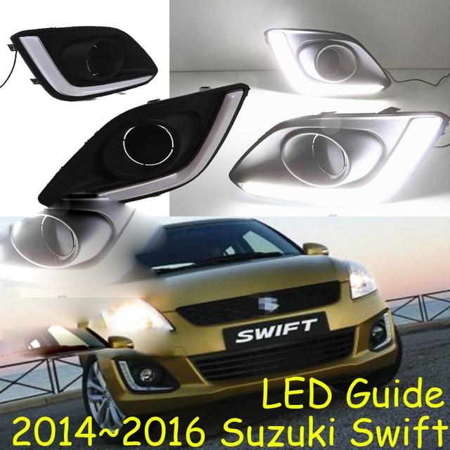 Us 52 25 5 Off Led 2017 Swift Daytime Light Fog Headlight Aerio Ciaz Reno Kizashi S Cross Samurai In Car