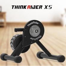 Thinkrider X5 20-29 MTB умный тренажер прямой цепной привод встроенный измеритель мощности велосипедные тренажеры для power Fun, Zwift, PerfPro