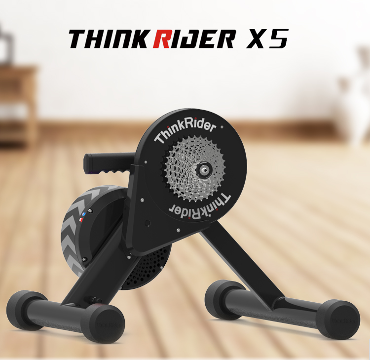 Thinkrider X5 20-29 MTB Bicycle Smart Trainer Direct Chain Drive Built-in Power Meter Bike Trainers For PowerFun, Zwift, PerfPro