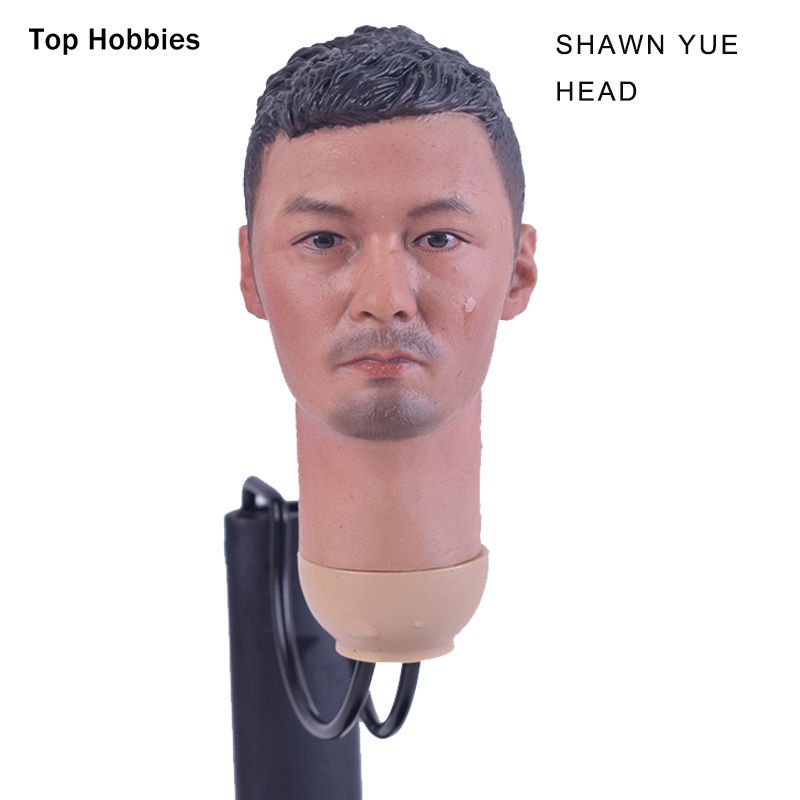 HOT FIGURE TOYS 1/6 Scale HEADPLAY Shawn Yue head Model carving Hong Kong actor Fit 12 Inch Phicen Action Figure Ht TTL TOys dstoys d 005 1 6 scale female head sculpt beauty girl headplay long curly hair for 12 ht phicen action figure