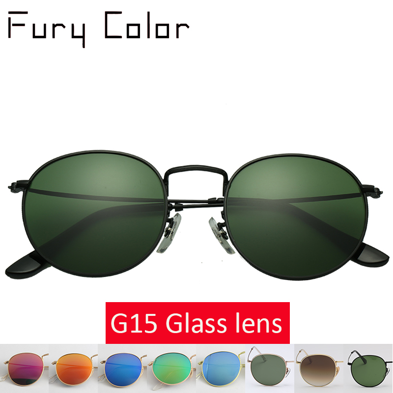 602029ac02 Detail Feedback Questions about Top quality Glass lens Steampunk Round  metal frame Sunglasses Men Women Luxury design brand retro driving sun  glasses gafas ...