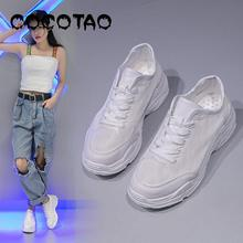Inner Heightening Small White Womens Shoes Summer New Style 2019 Tide Spring Net Red Baitao Leisure