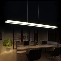 Free Delivery WECUS Patent Design New Product LED Strip Light Restaurant Hanging Lamp Electrodeless Dimming Acrylic