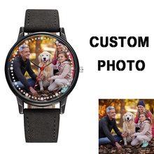 BSL996 Custom Women Watches Japan Quartz Movement OEM Men Watch Brand Logo Print Your Design Picture Watch Unique Gift Relojes