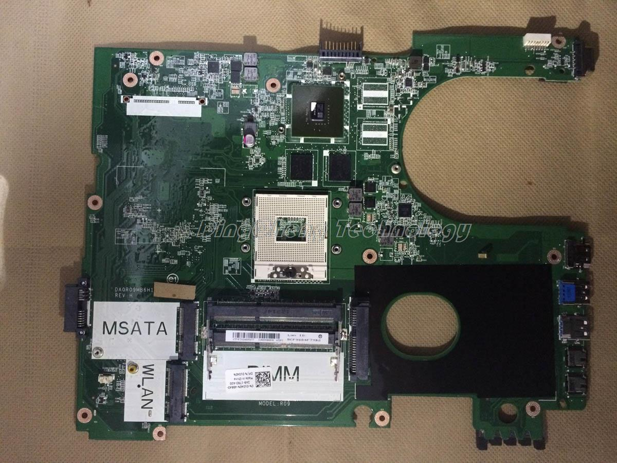 SHELI laptop Motherboard/mainboard for dell inspiron 17R 7720 CN-01040N 4 video chips non-integrated graphics card