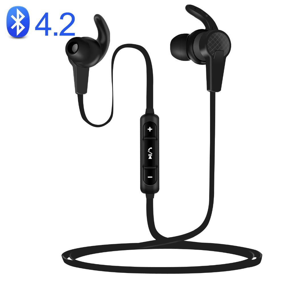 Wireless Earphone PTM B1 Headphone Bluetooth 4.2 Headset BT Earbuds With Mic for Earpods Airpods new dacom carkit mini bluetooth headset wireless earphone mic with usb car charger for iphone airpods android huawei smartphone