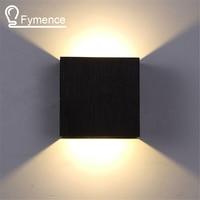 6W Led Wall Lamp 10CM 10CM 5CM Luminaire Apliques Pared Lamparas De Pared Wall Mount