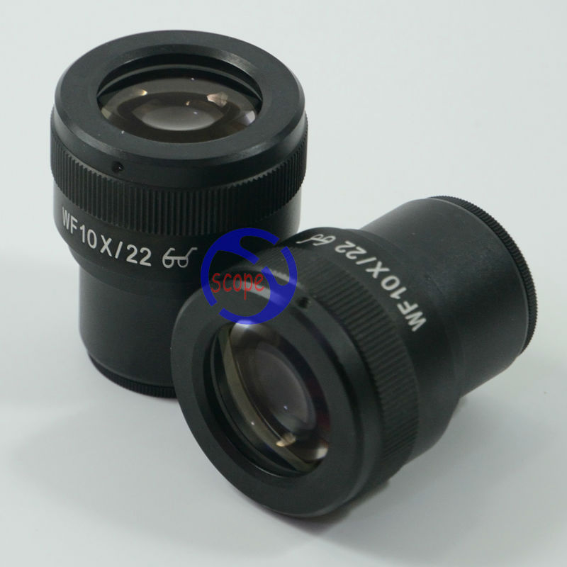 ФОТО Free shipping  Super Wide field WF10x -22mm Adjustable Eyepiece For Stereo Microscopes with 30mm Dia Eyepiece tube