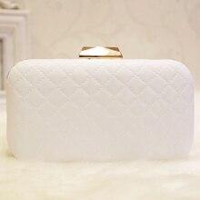2018 Vintage Plain Nude Evening Bag Designer White Clutch Bag Clutch Chain Shoulder Bag Day Wallet Wedding Purse Party Banquet цена в Москве и Питере