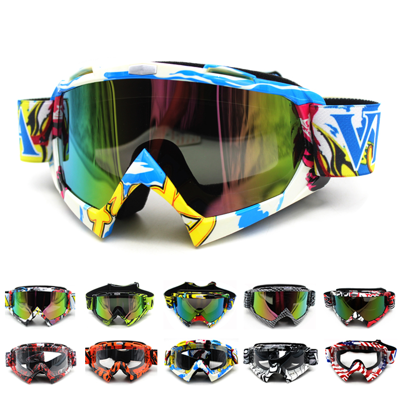 Oculos Motocross Goggles Glasses Cycling MX off road Helmets Ski Sport Gafas Motorcycle Dirt Bike Racing Goggles fox racing youth main goggles roll off kit