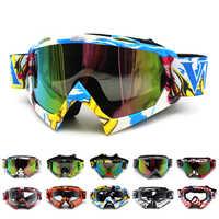 ROAOPP Oculos Gafas de motocicleta Gafas de ciclismo y motocross todo terreno cascos deporte de esquí Gafas de motocicleta Dirt Bike Racing Moto Gafas