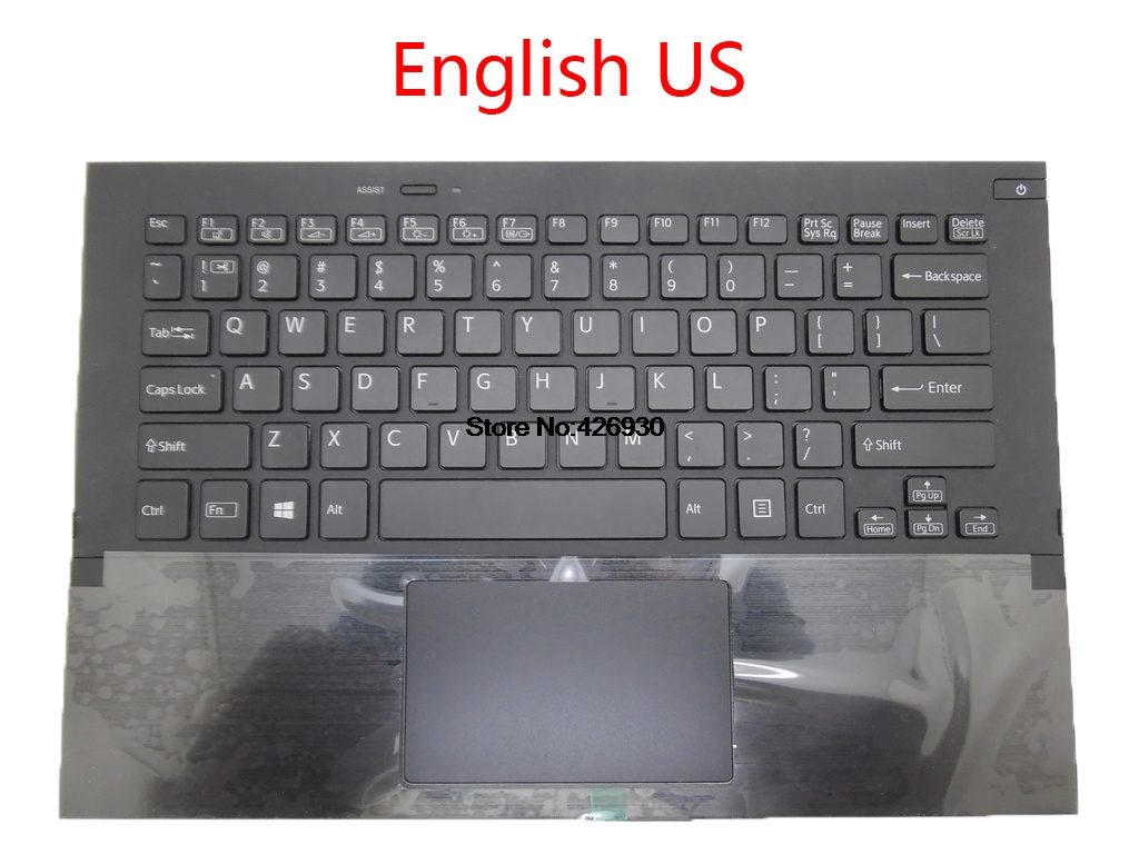 Laptop Palmrest Keyboard For SONY For VAIO SVP11 PRO 11 Series touchpad Italian IT United Kingdom