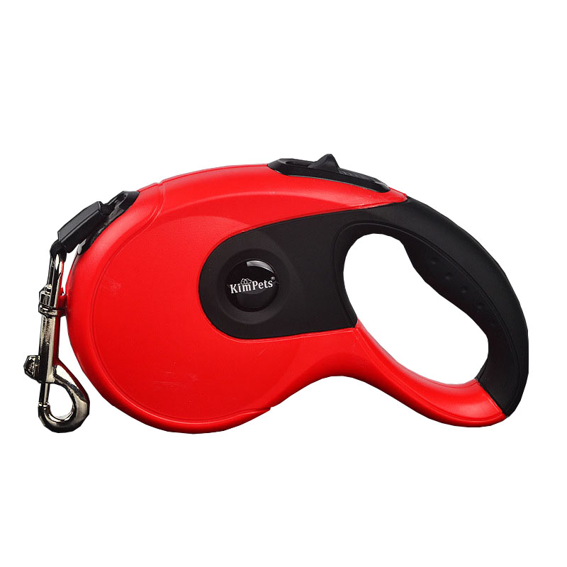 KIMPETS 3M/5M Retractable Dog Leash Pet Automatic Leash Durable Medium Large Dog Traction Rope Puppy Walking Leashes 6 Color