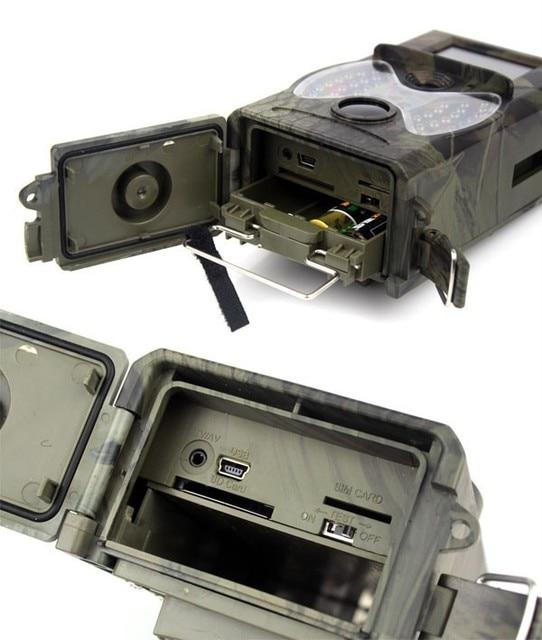 1Pcs Suntek HC300 HC-300A Scouting Hunting Trail Camera 12MP HD Cam 940NM Infrared Wildlife Night Vision IR Trail