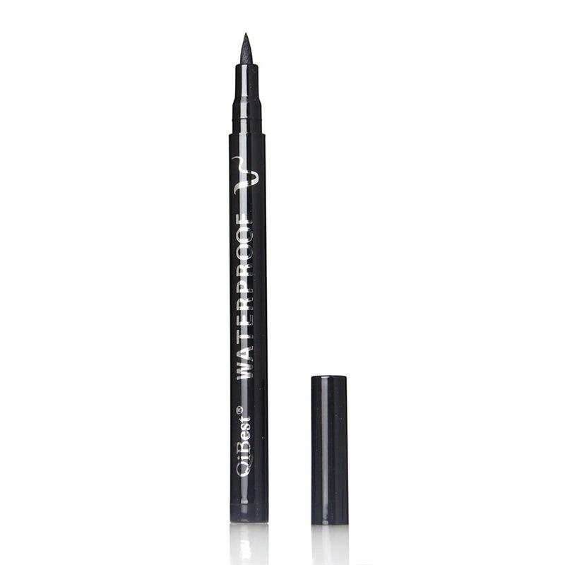 1pcs Black Eyeliner Waterproof Liquid Eye Pencil Pen Make Up Beauty Comestic Make Up Waterproof Beauty in Eye Shadow Liner Combination from Beauty Health