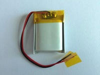 802025PL 블루투스 스피커, 헤드폰, 장난감 레코더, 폴리머 리튬 배터리, 400 미리암페르하우어, 3.7 볼트 충전식 리튬 이온