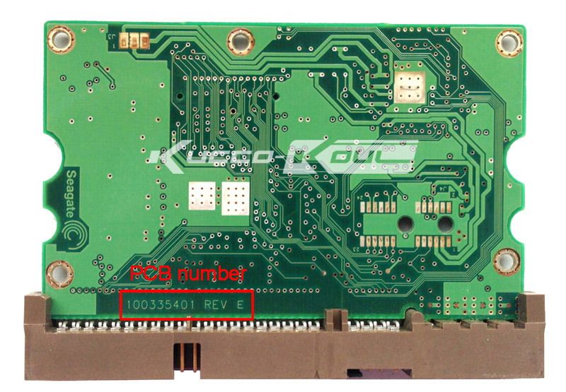 hard drive parts PCB logic board printed circuit board 100335401 for Seagate 3.5 IDE/PATA hdd data recovery hard drive repair
