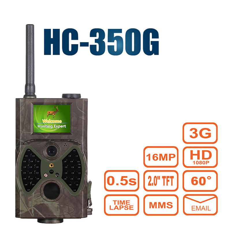 Hunter Wild Game Trail Hunting Camera 60 Degrees Night Vision Trap Infrared HC350G Forest Camcorder Animal Camera Gsm Mms 3g cabela s big game hunter