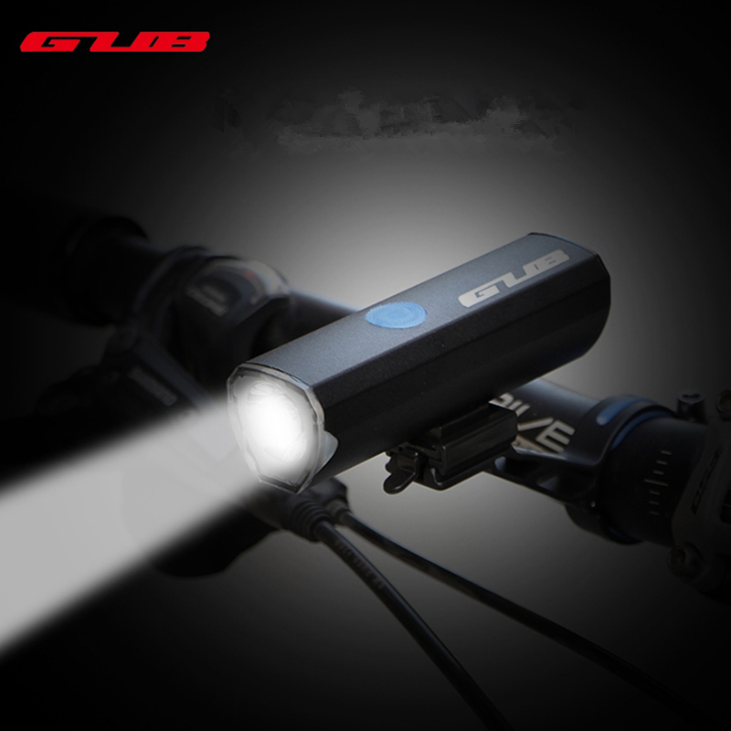 GUB Waterpoof Front Light LED 5W 300 Lumens Bicycle Lights Lamp For MTB Road Bike USB Re ...