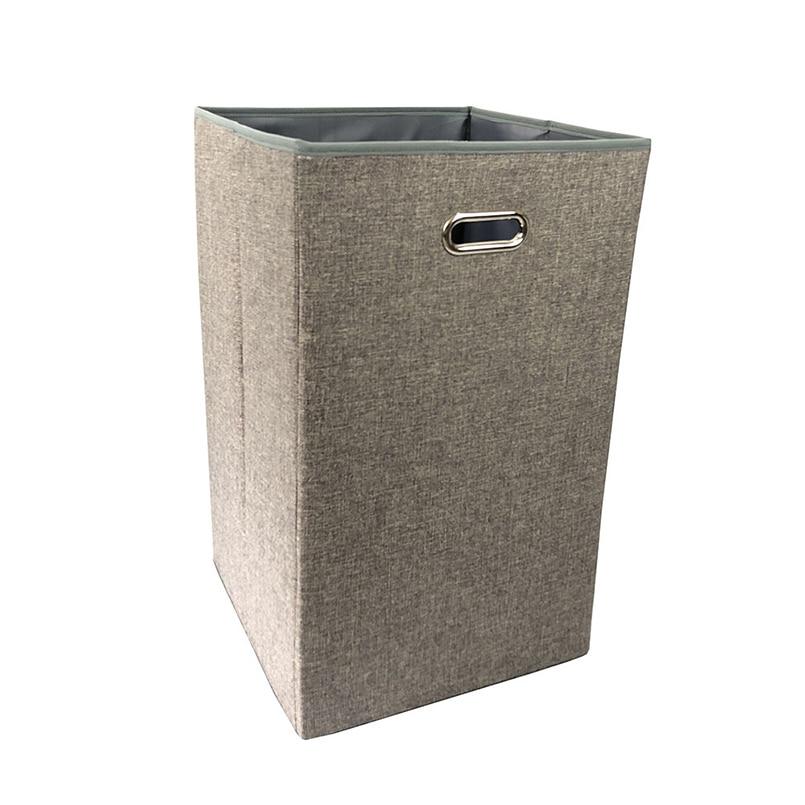 JILIDA Gran Cuadrado Plegable Cesto de Lavandería Cesto Clasificador - Organización y almacenamiento en la casa