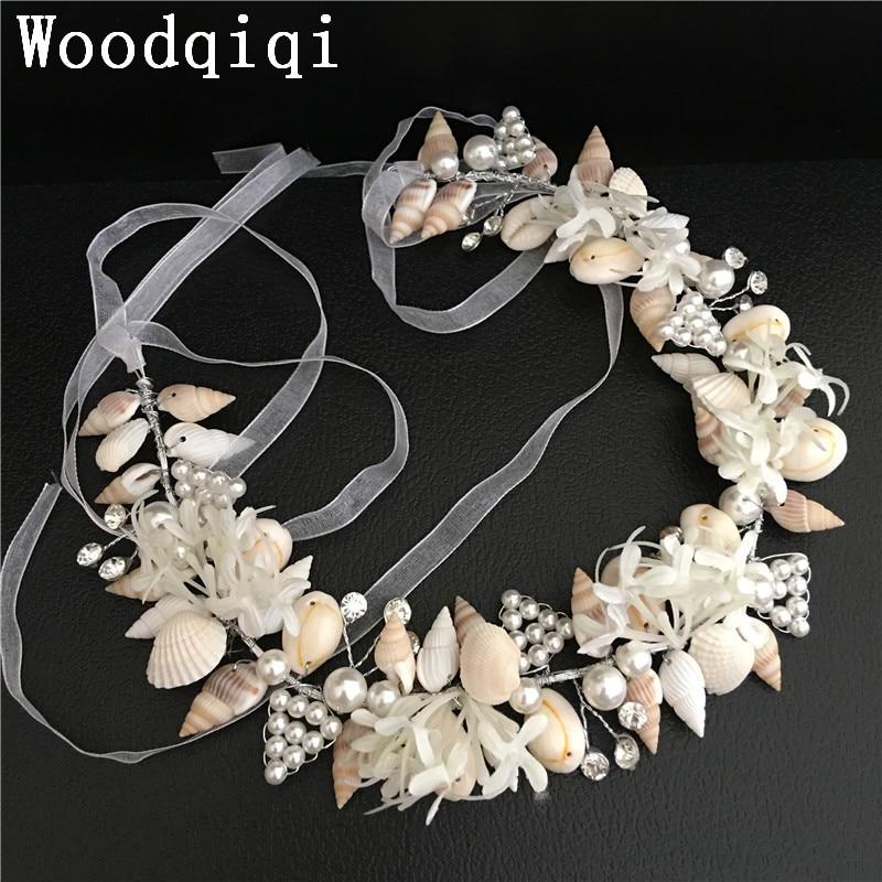 Woodqiqi enfeite de cabelo coroas de cristal ganchos de cabello diademas para mujer metal Hairband metal boda pelo joyería